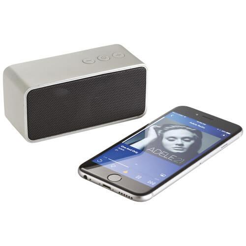 Boxa Bluetooth B108315 argintie conectata