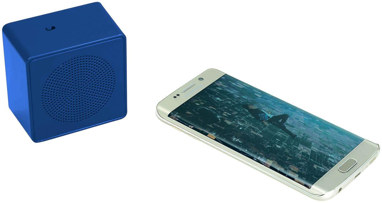 Boxa bluetooth B134234 albastra cu telefon