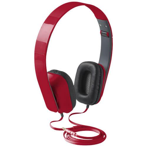 Casti audio B108179 rosii