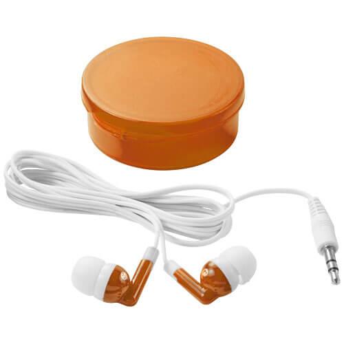 Casti audio B108219 portocalii