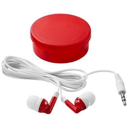 Casti audio B108219 rosii
