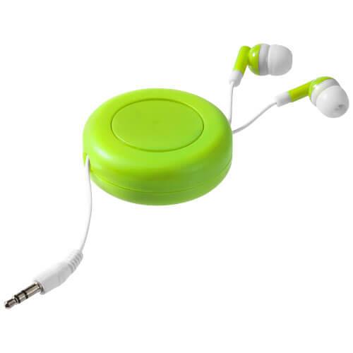 Casti audiu B108235 verde lime