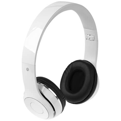 Casti bluetooth B108297 albe