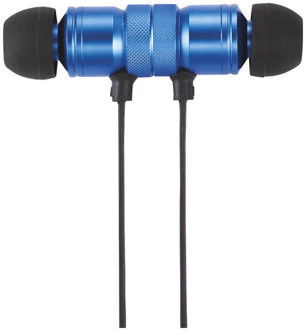 Casti bluetooth B108309 albastre detalii 3