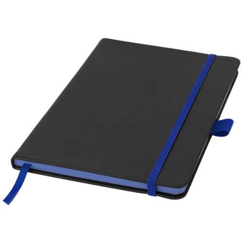Notes 106907 negru cu elastic albastru