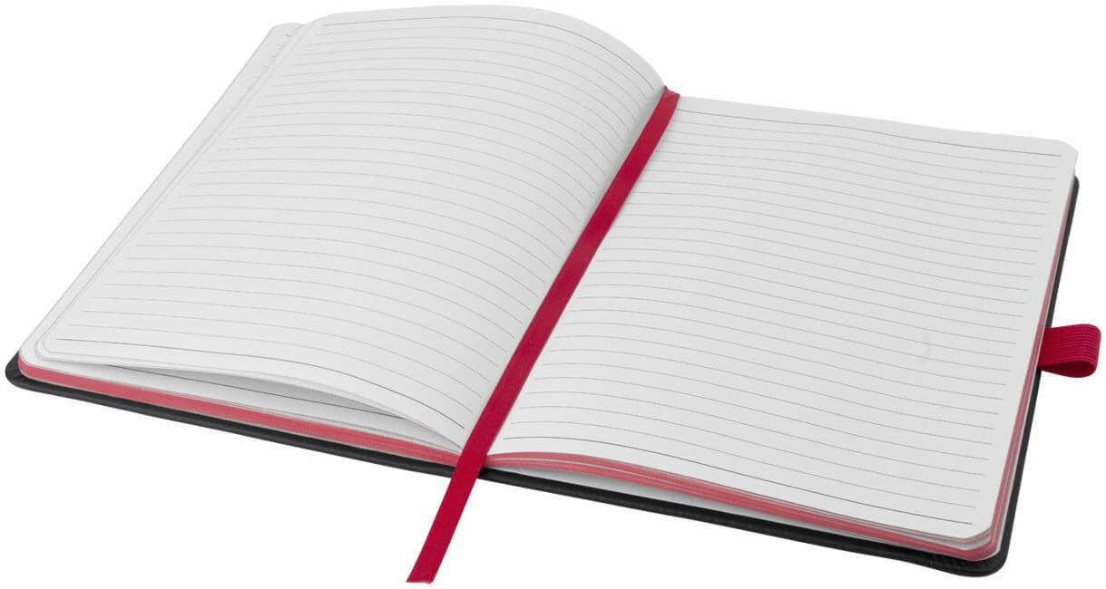 Notes 106907 negru cu elastic rosu interior