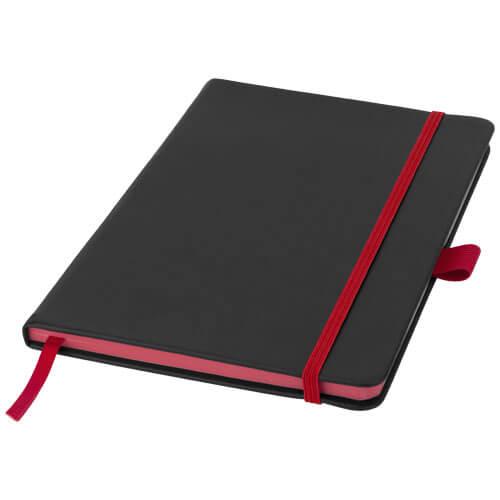 Notes 106907 negru cu elastic rosu