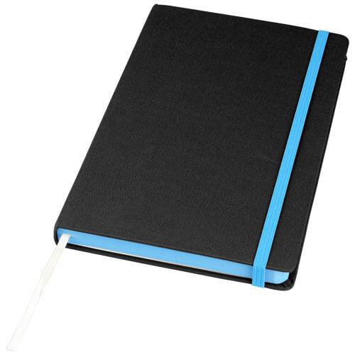 Notes 107082 negru cu elastic albastru
