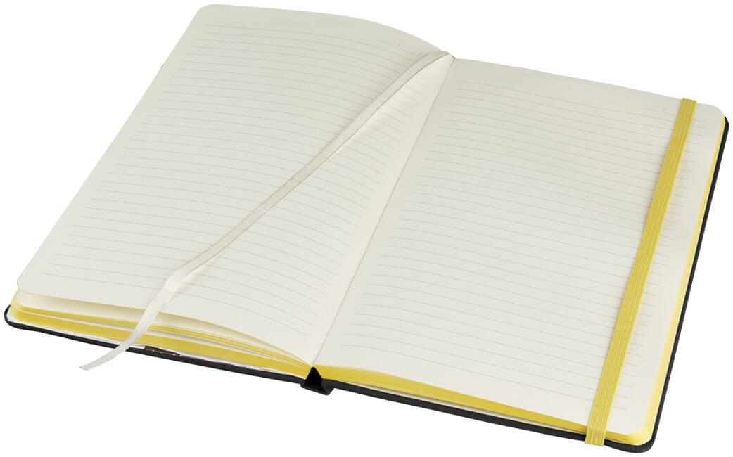 Notes 107082 negru cu elastic galben interior