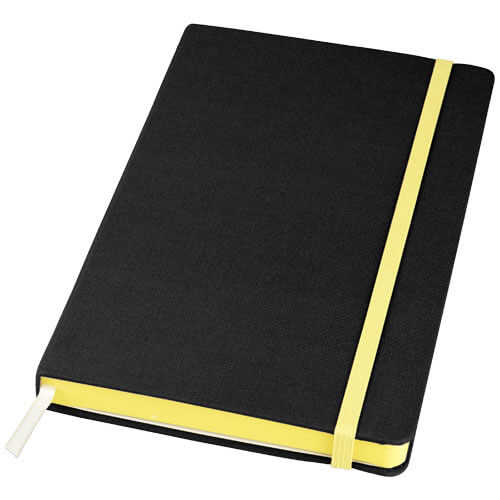 Notes 107082 negru cu elastic galben