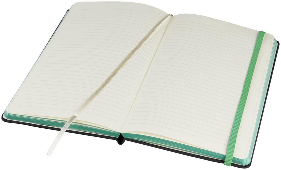 Notes 107082 negru cu elastic verde interior