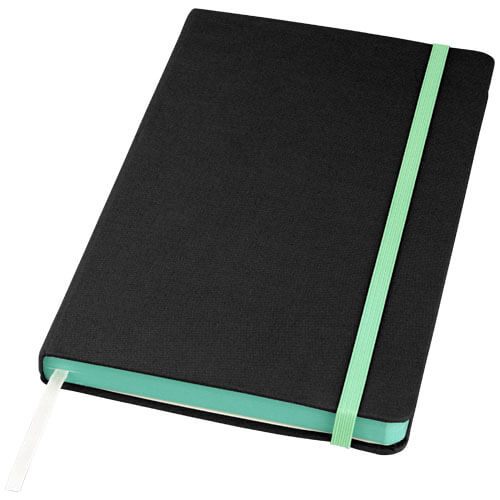 Notes 107082 negru cu elastic verde