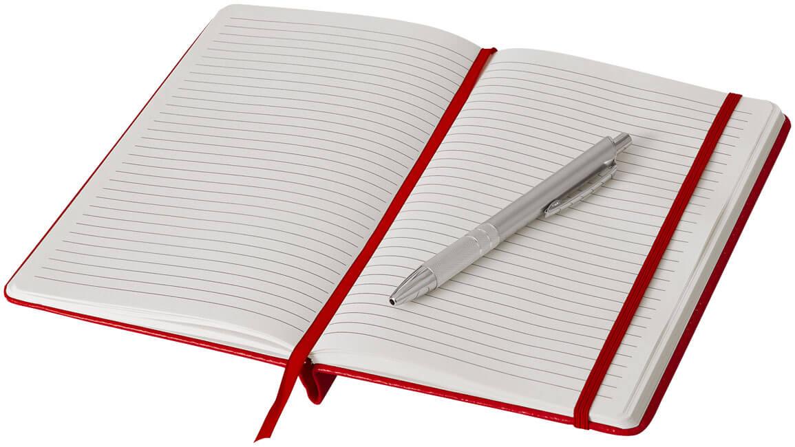 Notes B106796 rosu interior cu pix