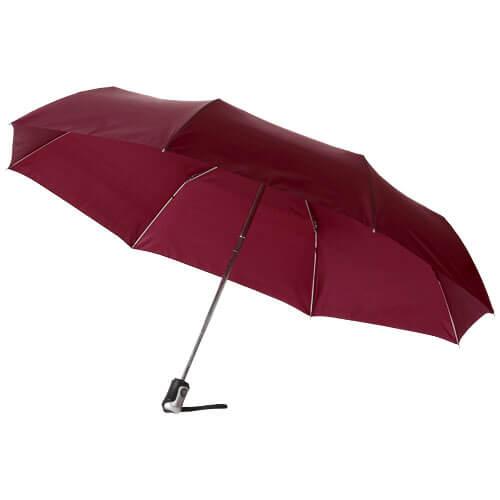 Umbrela B109016 burgundy