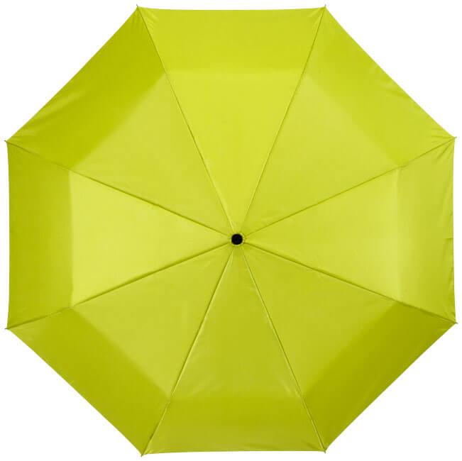 Umbrela B109016 verde mar cu interior gri de sus