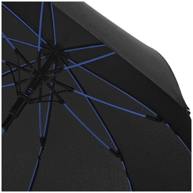 Umbrela B109087 neagra cu model albastru 1