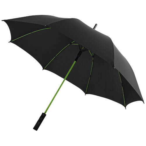 Umbrela B109087 neagra cu model verde