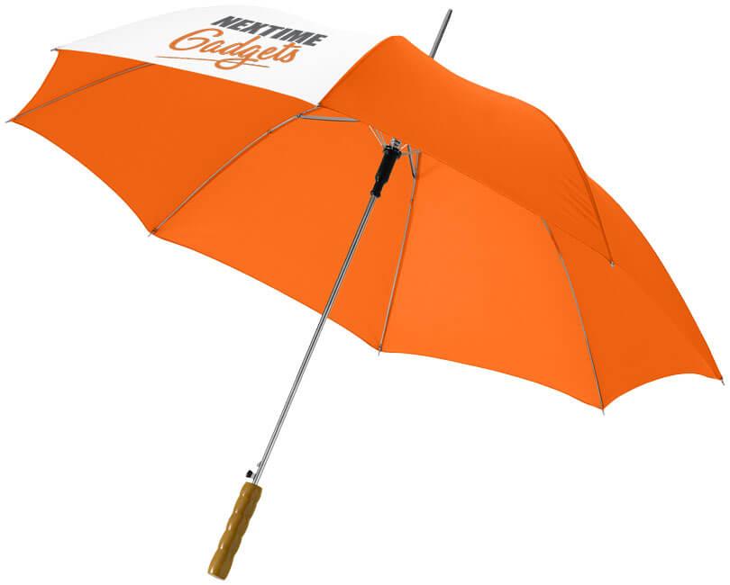 Umbrela B10909900 portocalie personalizata