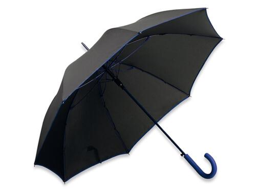 Umbrela B31129 neagra cu albastru marin