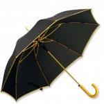 Umbrela B31129 neagra cu galben fata