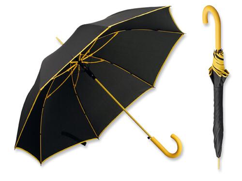 Umbrela B31129 neagra cu galben