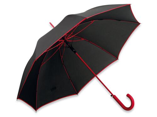 Umbrela B31129 neagra cu rosu