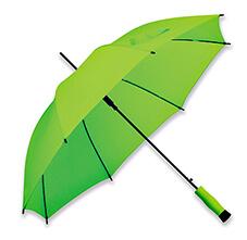 Umbrela B31139 verde reflectiv fara detalii