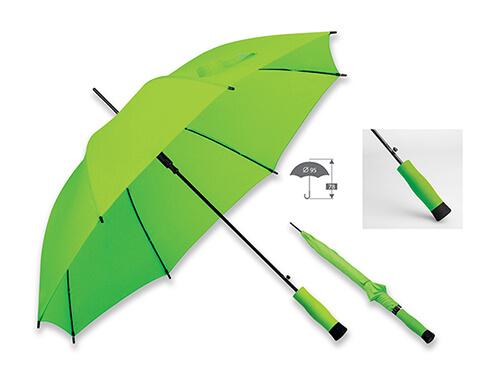 Umbrela B31139 verde reflectiv