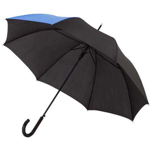 Umbrela automata B109100 neagra cu albastru