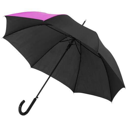 Umbrela automata B109100 neagra cu magenta