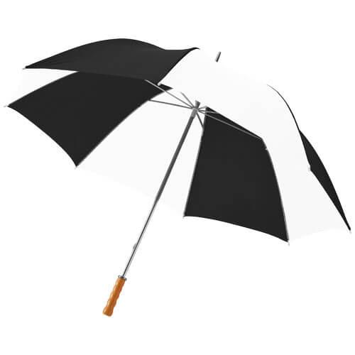 Umbrela doua persoane B109018 alb cu negru