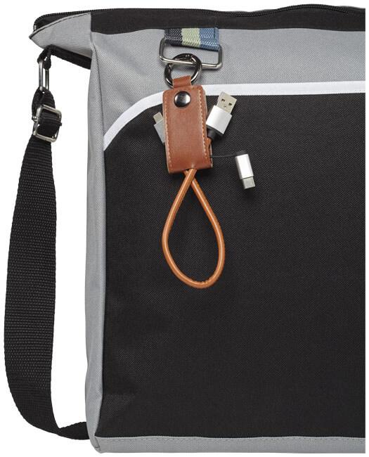 cablu de incarcare 3 in 1 B123723 prins de geanta