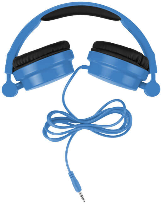 casti audio B108255 albastre stranse