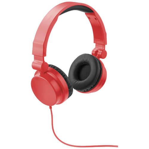 casti audio B108255 rosii