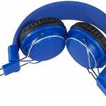 casti audio cu bluetooth B134199 albastre stranse