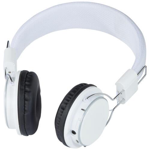 casti audio cu bluetooth B134199 albe
