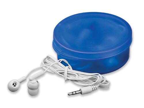 casti audio in cutie B45273 albastra