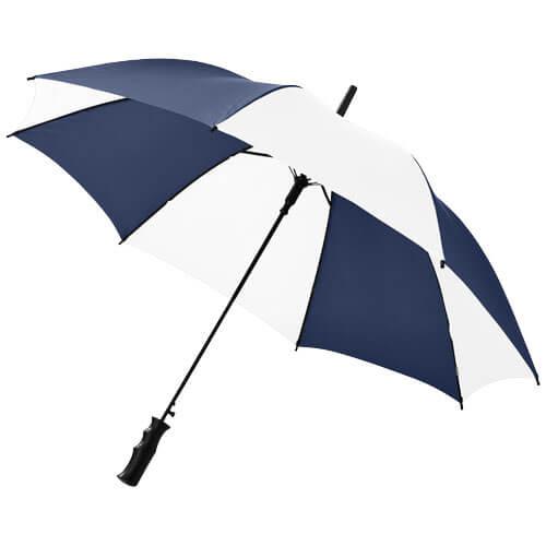 umbrela B109053 alb cu albastru navy