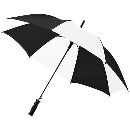 umbrela B109053 alb cu negru