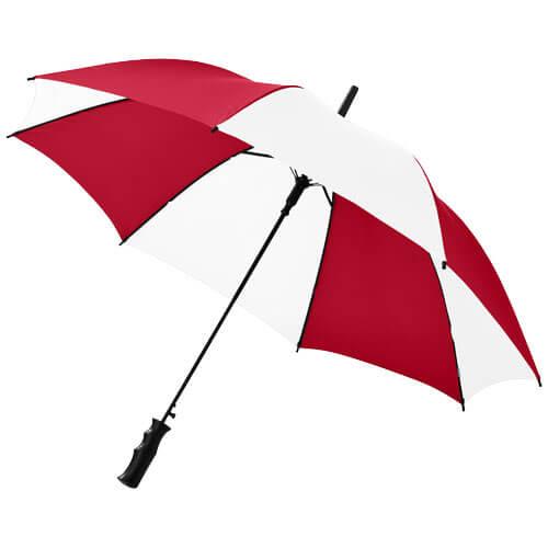 umbrela B109053 alb cu rosu