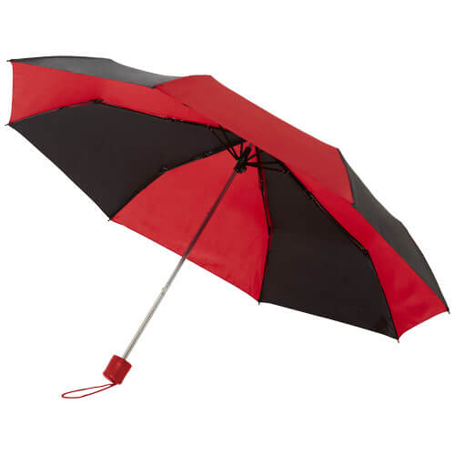 umbrela B109095 negru cu rosu