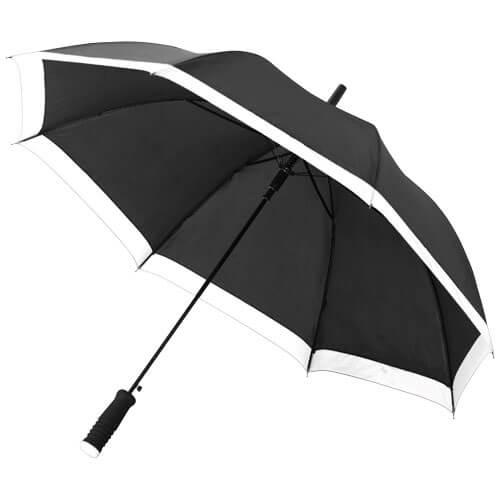umbrela B109097 neagra cu alb