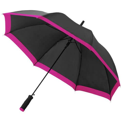 umbrela B109097 neagra cu magenta