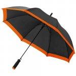umbrela B109097 neagra cu portocaliu