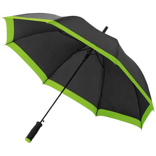 umbrela B109097 neagra cu verde