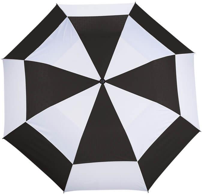 umbrela SLAZENGER B109114 alb cu negru cupola