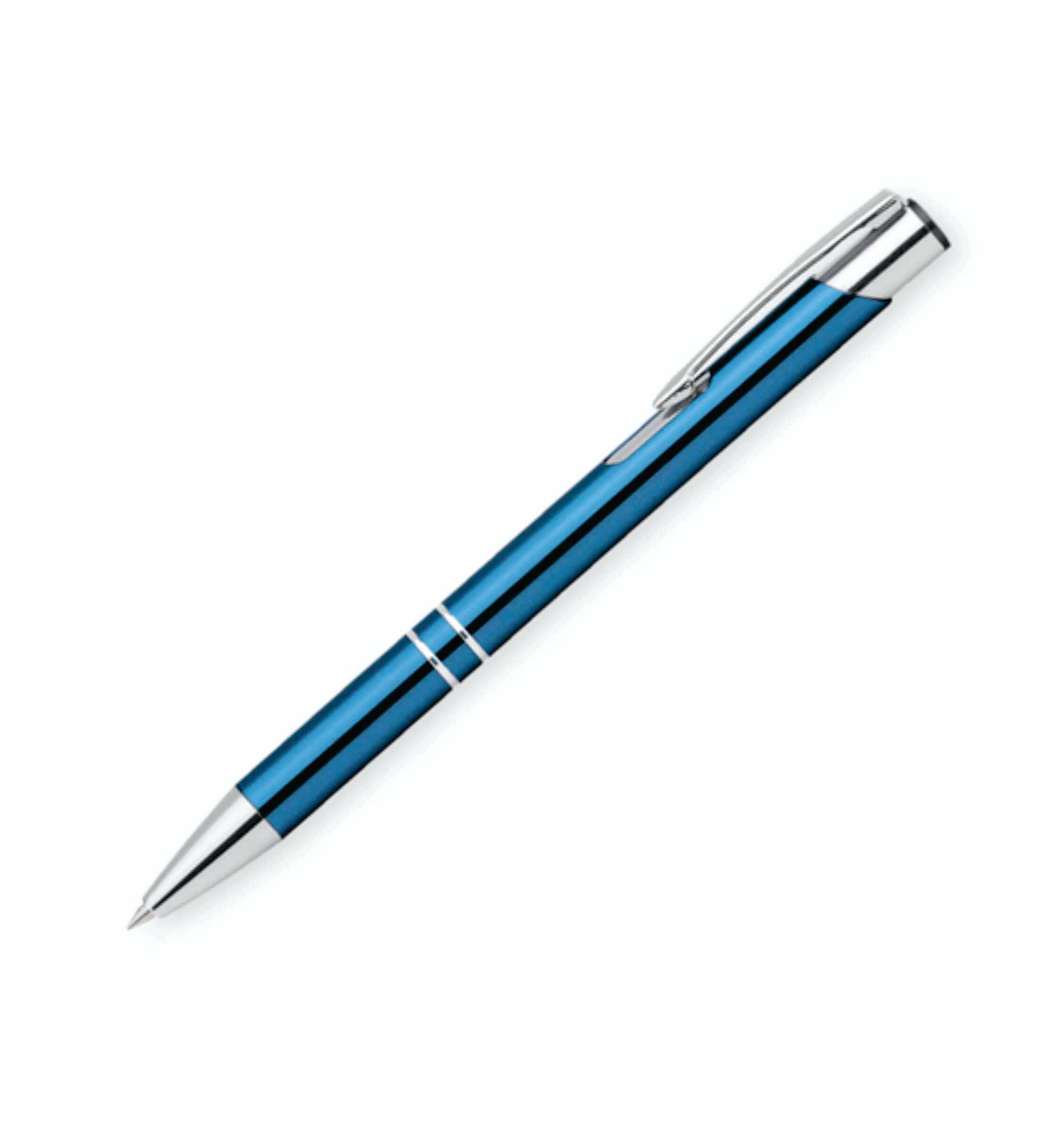 pix metalic oleg albastru deschis