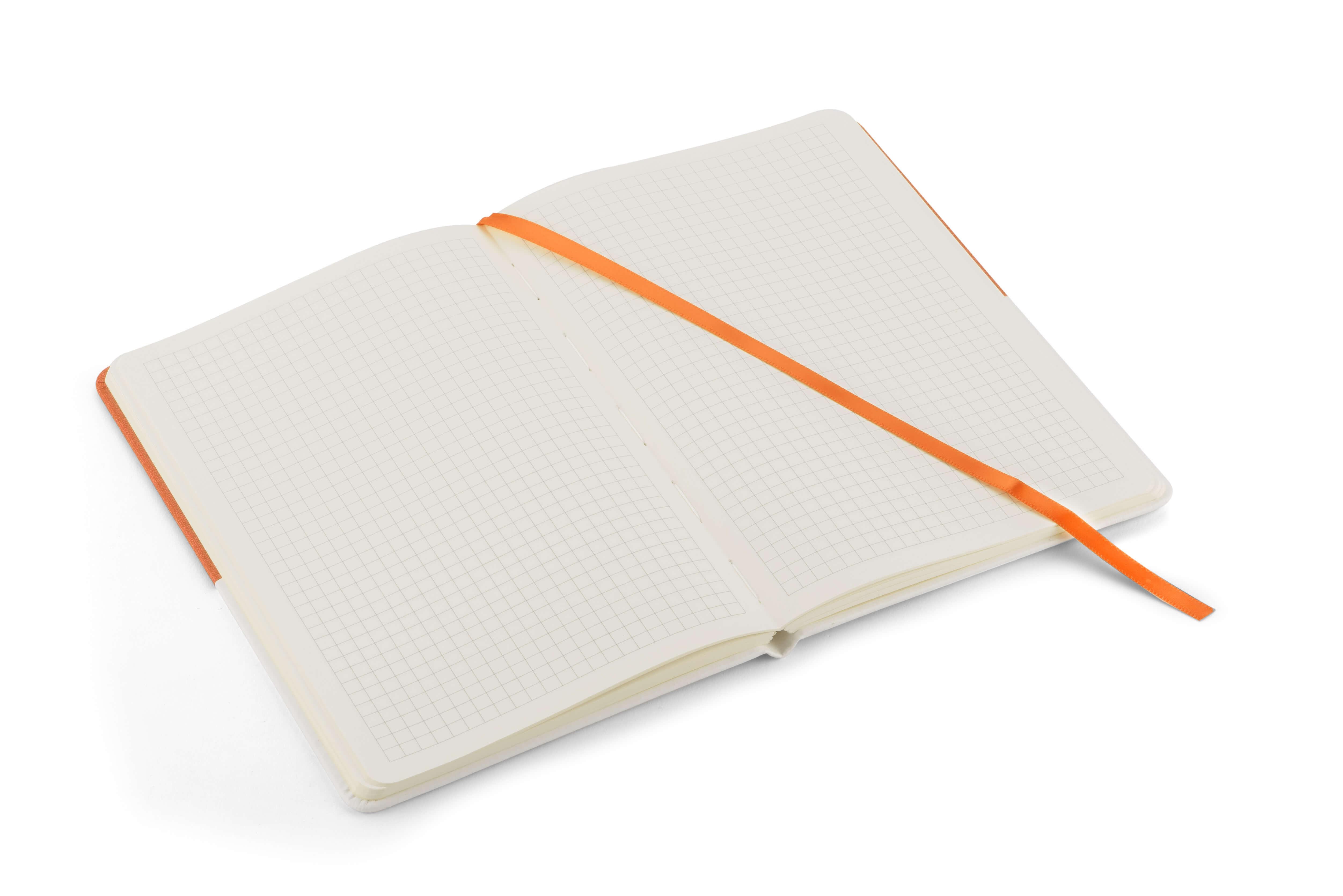 interior notebook twin portocaliu
