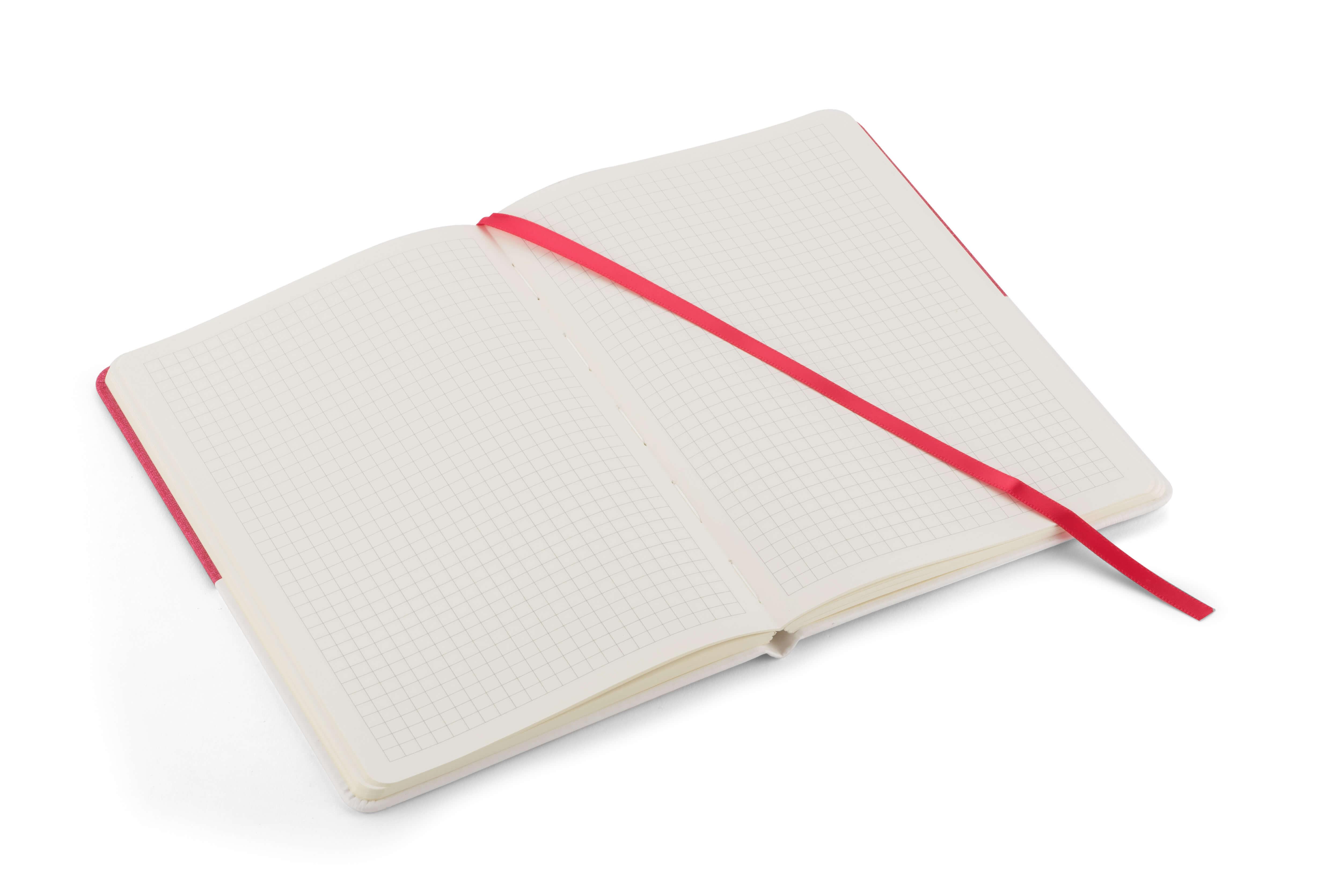 interior notebook twin rosu