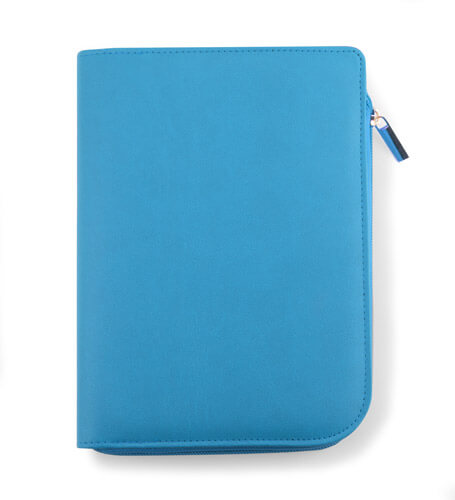 notebook a5 coli bleu